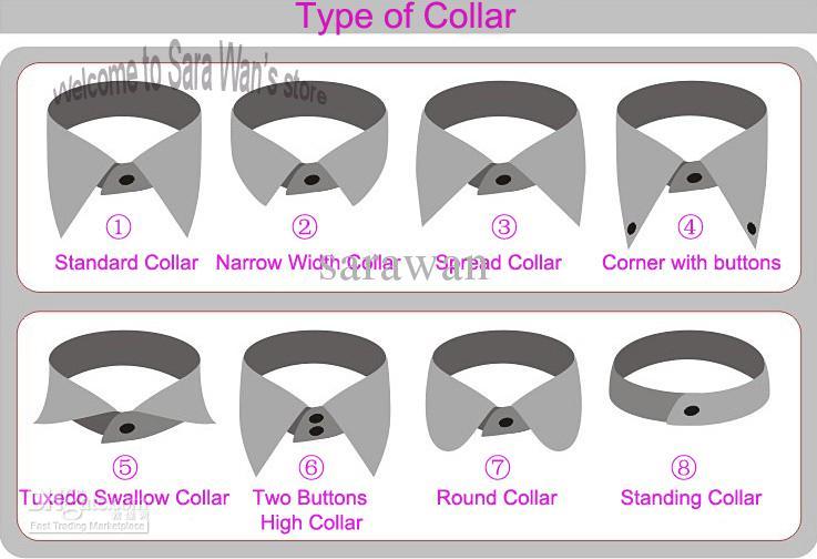 White Dress Shirt Long sleeve business formal custom tailor made bespoke shirts