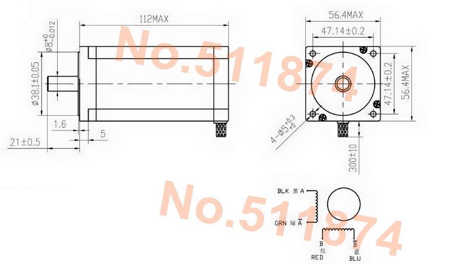 UT89SCyXmBcXXagOFbXE aliexpress com buy power motor! wantai nema23 stepper motor wantai stepper motor wiring diagram at suagrazia.org