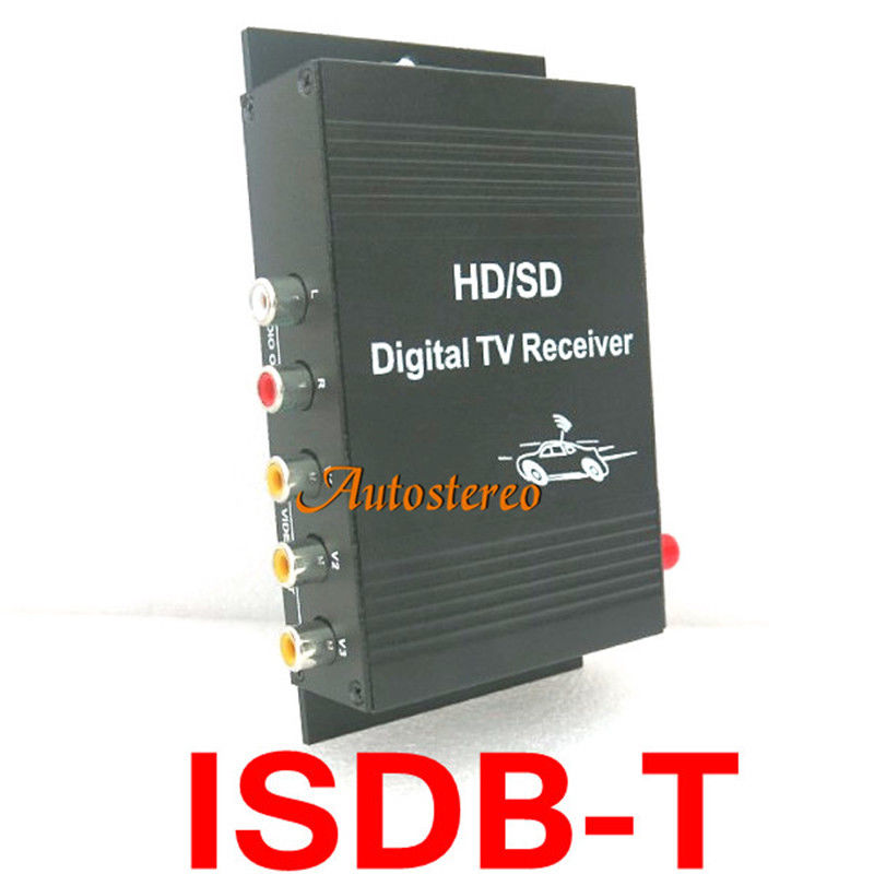 Car Digital TV ISDB-T Brazil Digital TV receiver for South American Countries dvb t isdb digital tv box for our car dvd player