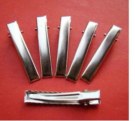 Аллигатора металлический зажим для волос цветок клип для Для женщин GRIL детей DIY