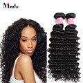 4 Bundles/Lot Malaysian Virgin Deep Wave Hair 100g Deals Natural Black Human Hair Deep Wave Virgin Hair Cheap 7A Deep Wave Hair