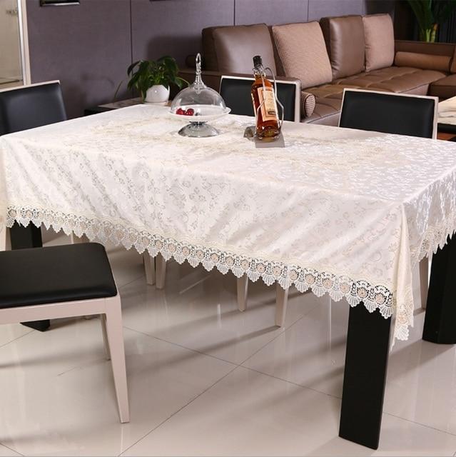 High quality satin jacquard tablecloth, fashionable embroidery ...