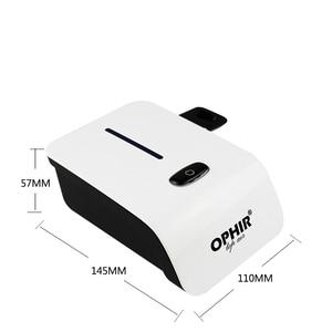 Image 4 - OPHIR hava fırçası seti ile hava kompresörü Hava fırça Püskürtme Makyaj Sistemi Tırnak Sanat Vücut Boya Geçici Tattoo_AC117W + AC004A