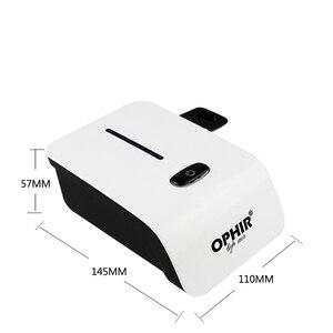 Image 4 - Комплект аэрографа OPHIR с воздушным компрессором, аэрограф, система для макияжа ногтей, краска для тела, временная татуировка, ac117w + AC004A