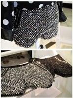 бесплатный транспорт 895 # корейской товар блестки blingbling с молния украшения шорты трикотажные шерсть