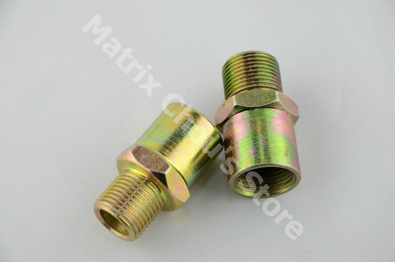 Универсальный Масляный фильтр двигателя Сэндвич пластина адаптер для автомобиля датчик температуры масла масло пресс сенсор адаптер M20X1.5 3/4X16 Разъемы