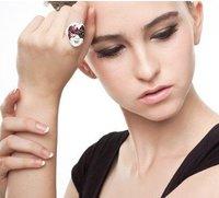 мода горячая распродажа новое поступление уникальный симпатичные многоцветный лица кольцо r286