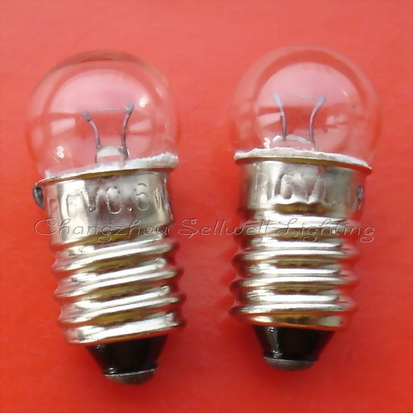 New!miniature Lamps Lighting 6v 0.6w E10 A534