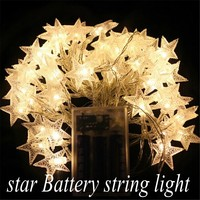 10M 80 Led Battery String With Ball Furry Ball Snowflake Lotus Flower Star Cherry Love Heart