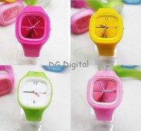 бесплатная доставка продвижение анион часы оптовая продажа мода и высококачественного желе часы