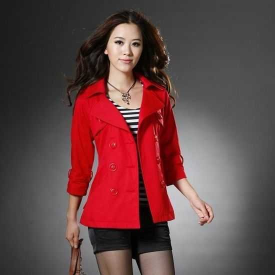 women leisure jacket 2012 New Korean double breasted self ...