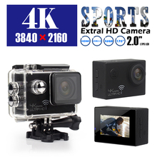 Novatek 96660 Action Camera 4K 16MP Ultra HD WIFI Sports Camera Supports to 30m Waterproof Can Fit Syma X8G RC Drone