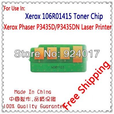 Для Xerox Phaser 3435 P3435D P3435DN чип для принтера, для Xerox 3435 CWAA0762 106R01414 106R01415 чип заполнения тонера
