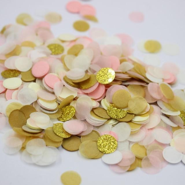 7500 Stucke 10g Gold Rosa Weiss Tischdekoration Hochzeit Konfetti