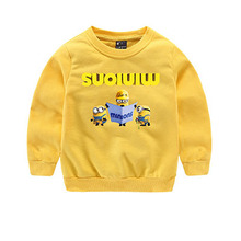children spring & autumn clothing sets for girls and boys cartoon long-sleeved sweater + jeans suit sets kids costume