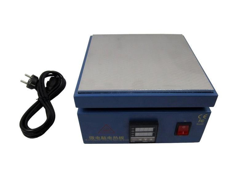 Free shipping 850W hot plate reballing oven LY-2020 pre-heating station, 220V/110V pre heater preheating station bga reballing oven solder ball welding machine