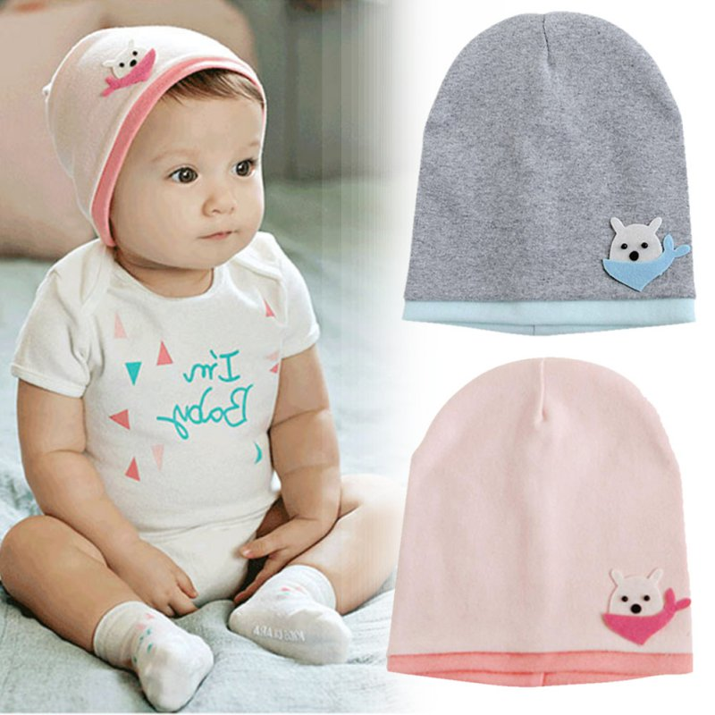 Doux Bébé Enfants Infantile Nouveau-Né En Bas Âge Fille Garçon Coton  Enfants Chapeaux Casquettes 3-16 M Pour Nouveau-Né Bébé 1ac7fc08f26