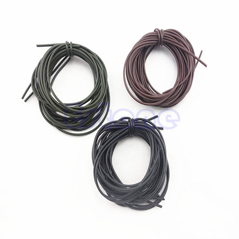 Fishing Accessories 2M Silicone Rigs Tube Sleeve Pretend Fishing Lines For Carp Fishing 0.5mm
