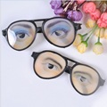 Frames men women Funny Cosplay Glasses Cartoon Eye's Wear for mischief Fancy Party Holiday