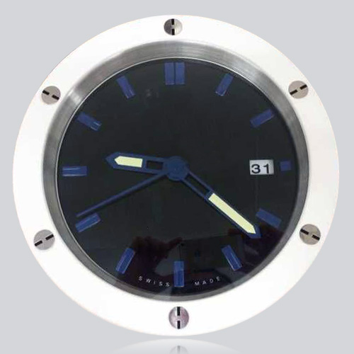 Fashion Your House Cowboy Stylish Clock Wall White Black Tone Stainless Steel font b Watch b