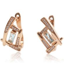Fashion Crystal Hoop Earrings