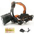 Hot Sale 2000Lm iluminação Led Lâmpada de Cabeça CREE T6 XML LED Farol Camping Pesca Luz + 2*18650 bateria + carregador