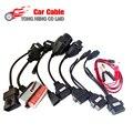 Cable OBD del coche Herramienta de diagnóstico OBD2 del sistema completo 8 cables del coche interfaz de cable para TCS pro CDP multidiag pro MVD Envío Gratis