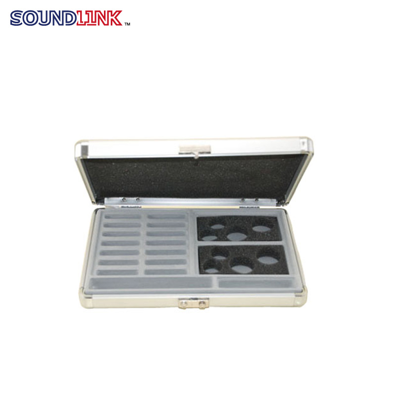 Hearing Aid Display Show Case Box Aluminium Presentation Case Hearing Aids Sample Case Box golf ball sample display case