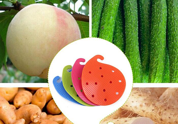 New Arrive Practical Fruit & Vegetable Brushes Eco Friendly Fruit & Vegetable Tools for Cooking PP Material