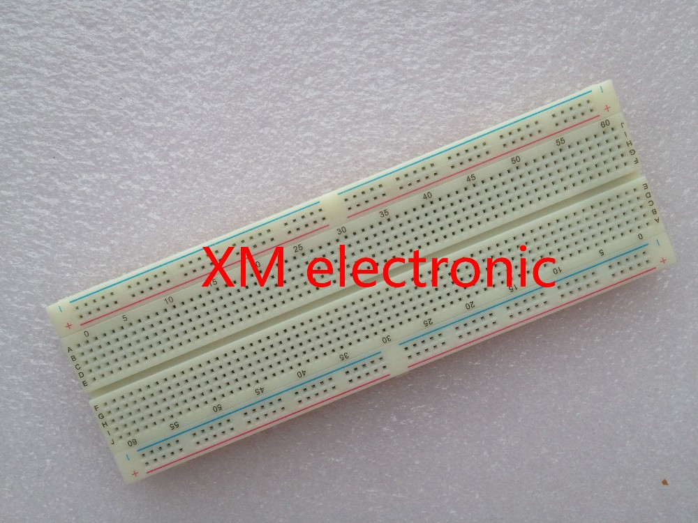 NEW MB-102 MB102 Breadboard 830Point Solderless PCB Bread Board Test Develop DIY FREE SHIPPING 3