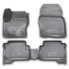 3D коврики для Ford Kuga II (2013-2017) полиуретан (Novline-Autofamily CARFRD00009k)