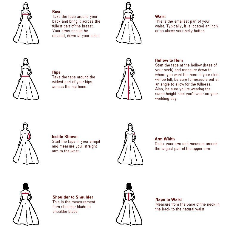 Attractive Type Of Wedding Gown Adornment