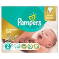Diapers For Children Pampers Premium Care 3-6 kg Diaper 2 Size Nappy 148 Pcs Disposable Baby Diapers