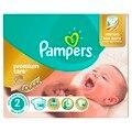 Pañales para niños pañales pampers premium cuidado de 3-6 kg 2 de pañales tamaño 148 unids pañales desechables para bebés