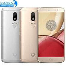 Original Motorola Moto M XT1662 Mobile Phone 4G LTE MTK Helio P15 Android 6.0 Octa Core 5.5″ 4G RAM 32G ROM 16.0 PM Smartphone