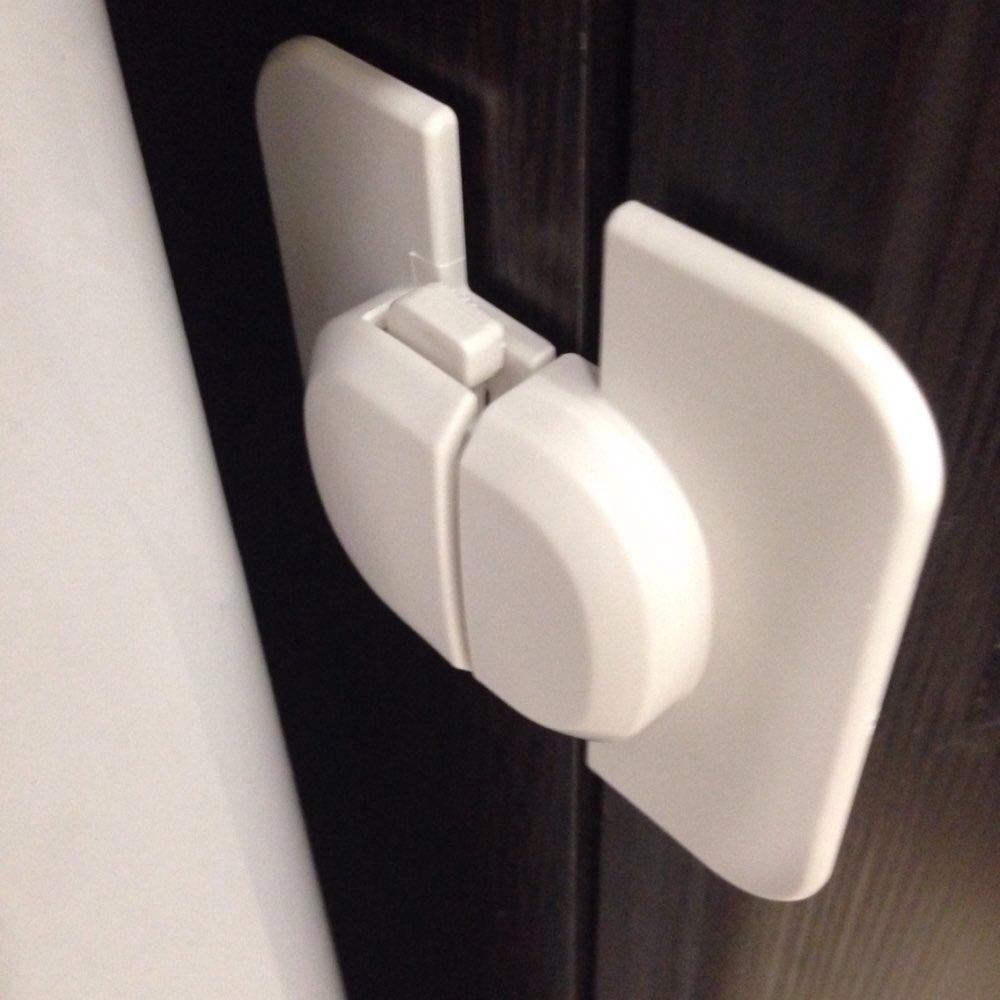 Fine 1pcs Home Refrigerator Fridge Freezer Door Lock Latch Catch Toddler Kids Child Cabinet Locks Baby Safety Child Lock Sufficient Supply Home Improvement