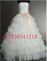 208 платье нойва модные сексуальное многослойные многоуровневое кружево большой с бантом створки свадебное платье невесты свадебное платье платья