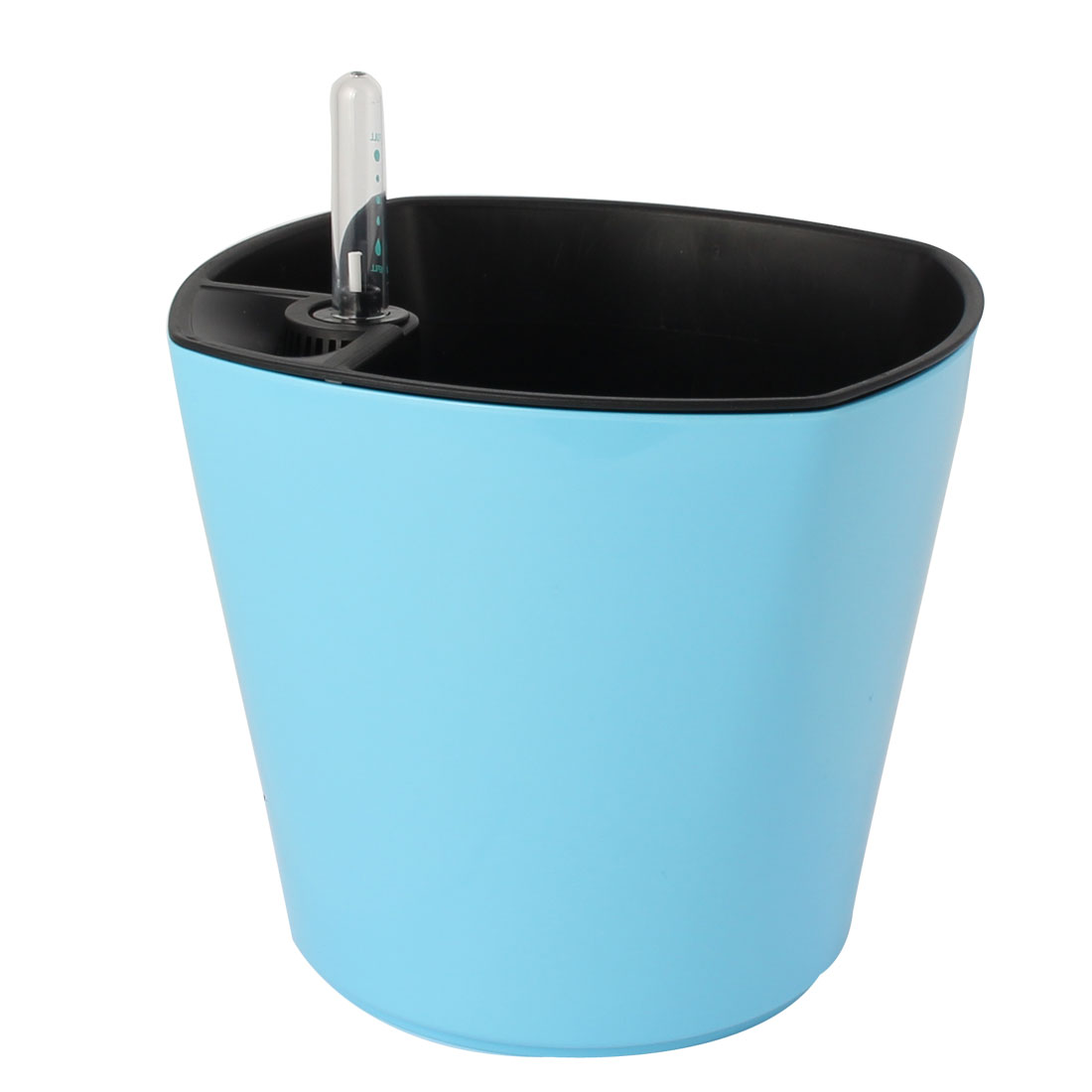 Uxcell Plant Plastic Self Watering Planter Flowerpot Light Blue W