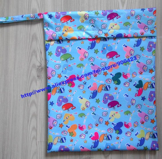 Почтовый водонепроницаемый мешок Мокрый пеленки мешок- 20 шт./упак. 30*35 см