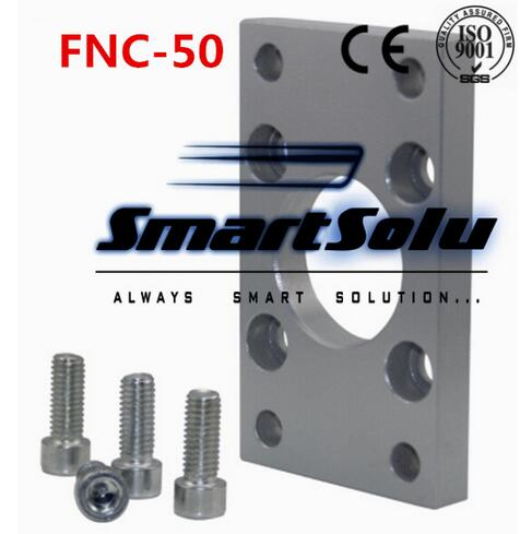 Free Shipping 5pcs/lots ISO6431 cylinder accessories FNC - 50, flange installation pieces, as FNC - 50, DNC, SE, SIFree Shipping 5pcs/lots ISO6431 cylinder accessories FNC - 50, flange installation pieces, as FNC - 50, DNC, SE, SI