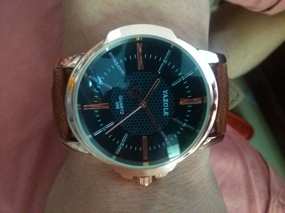 8048a3073ca Rose Gold Wrist Watch Men 2016 Top Brand Luxury Famous Male Clock ...