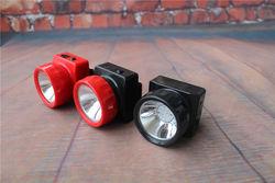 8pcs/lot Wholesale Coreless Miner Headlamp 1W 6+1 Li-ion Waterproof Camping Headlamp YJM-4625