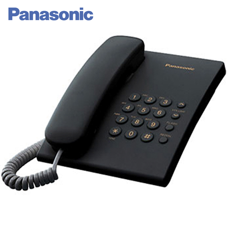 Panasonic KX-TS2350RUB Phone Home fixed Desktop Phone Landline for home and offfice use. adjustable plastic holder stand for phone and tablet pc black