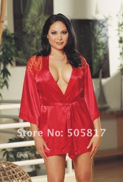 Sexy red robe