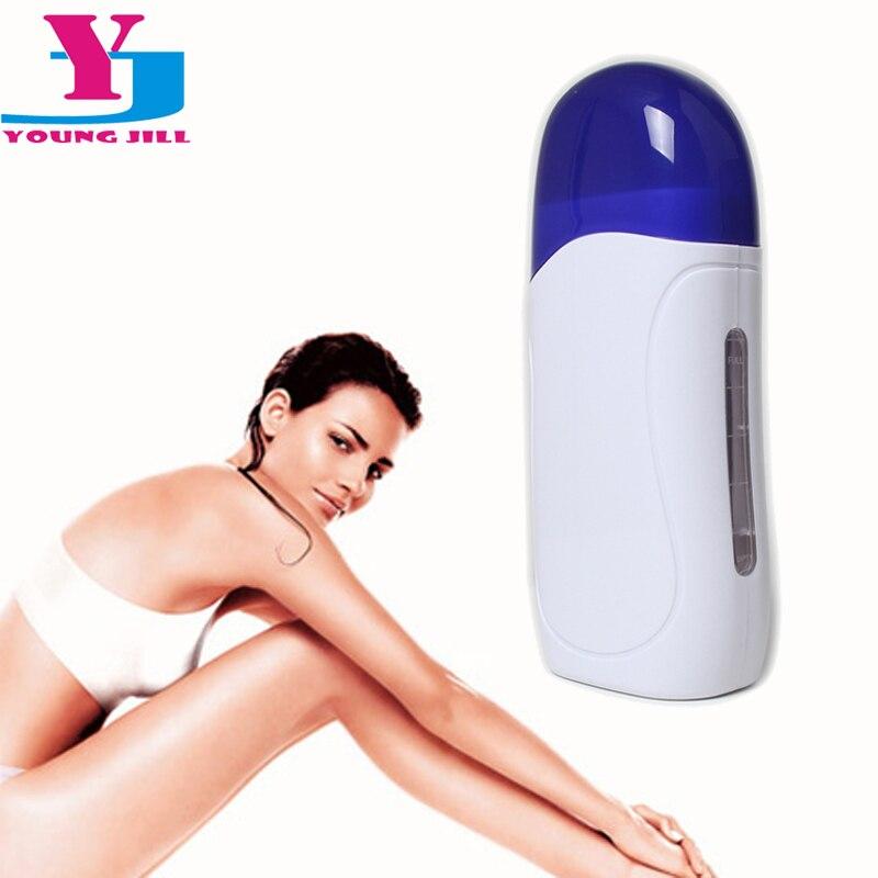 Hot Cartridge Depilatory Heater Wax Waxing Paper Hair Removal With Eu Plug High Quality 220V Roll Epilator Tool Kit  Beauty Lady