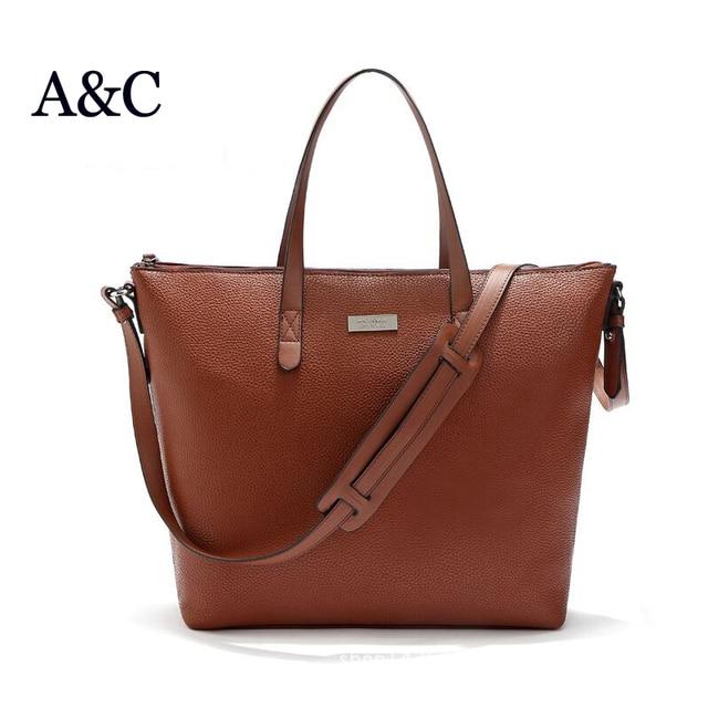 08b08ac6a1 Nouveau 2016 mode espagne grand sac à provisions marque designer femmes sac  à bandoulière femmes messenger