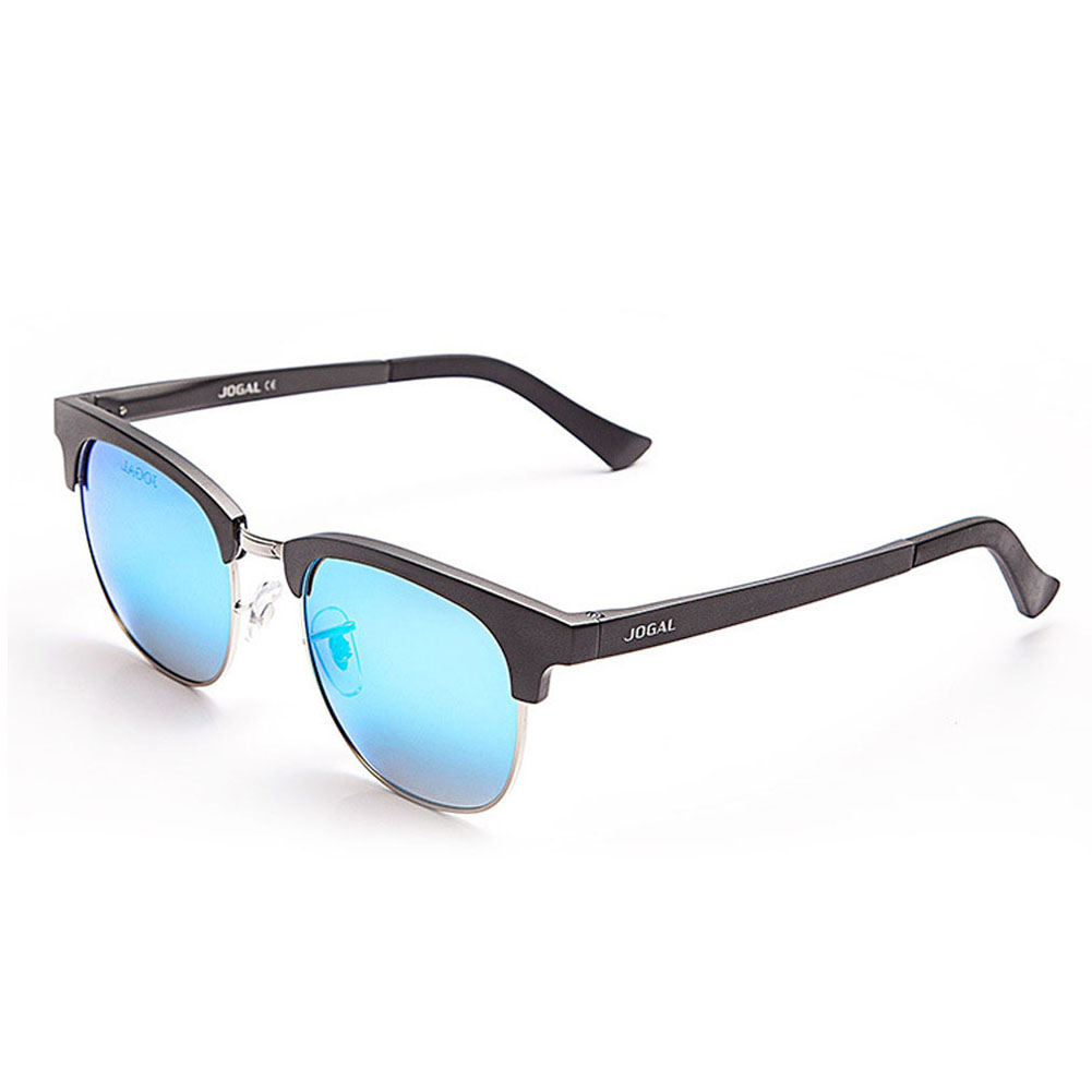 2017 Men Retro Rivet Polarized Sunglasses Classic Brand Designer Unisex Sunglasses Half Frame