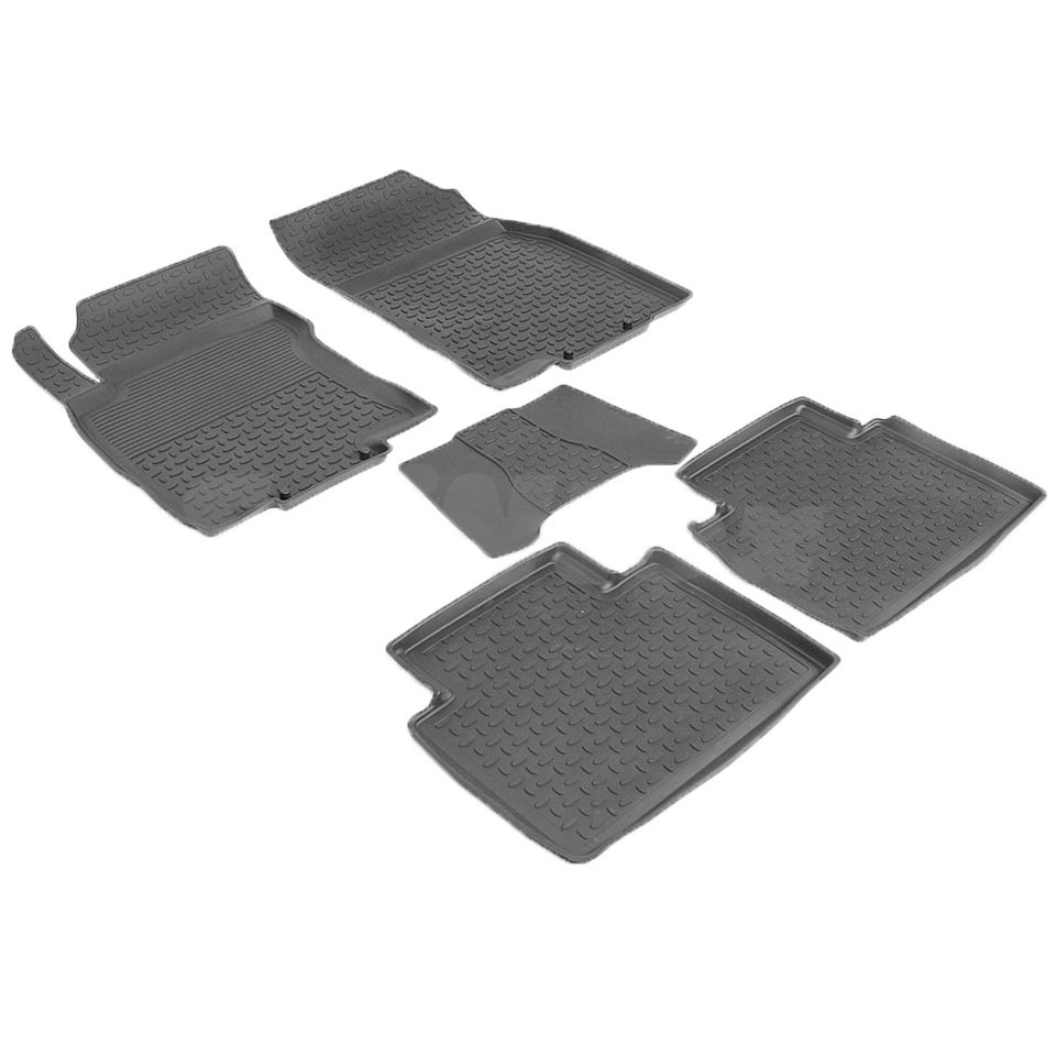 For Nissan X-Trail T32 2015-2019 rubber floor mats into saloon 5 pcs/set Seintex 86240 3d floor mats into saloon for nissan x trail t32 2015 2019 5 pcs set rival 14109001