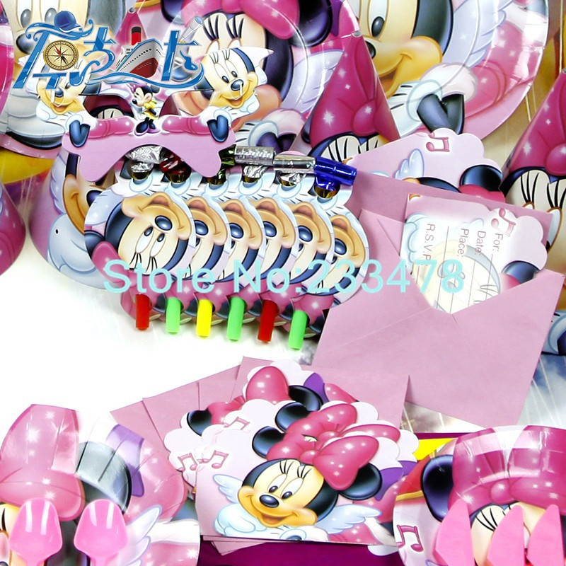 getSubject() aeProduct. & New 78pcs Kids Birthday Party Decoration Set Birthday Minnie Mouse ...