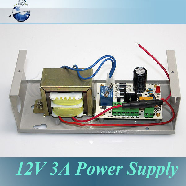 UT8AICJXktdXXagOFbXE dc 12v 3a output door access power supply control on aliexpress Residential Electrical Wiring Diagrams at readyjetset.co